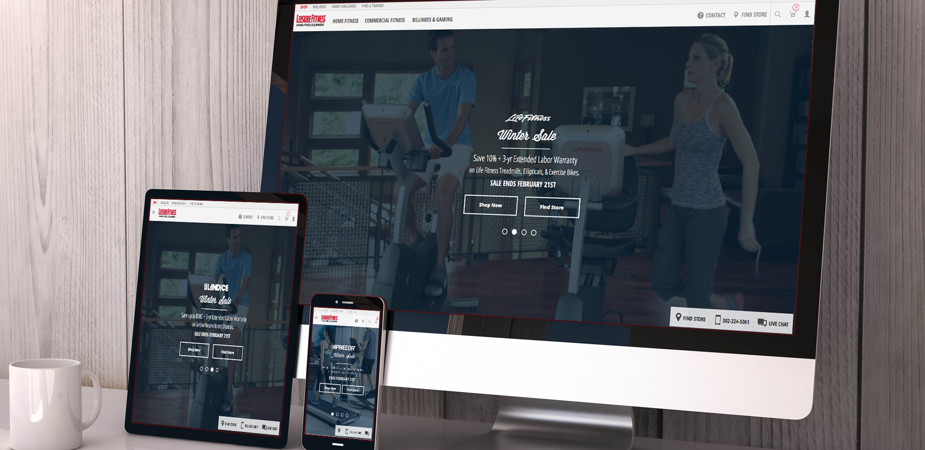 Web Application for Leisure Fitness